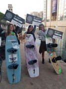 Claudia Pagnini vince il contest FISE Wakeboard a Montpellier